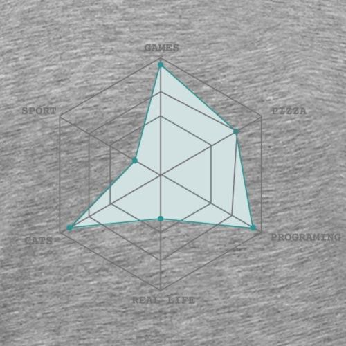 geek interest - T-shirt Premium Homme