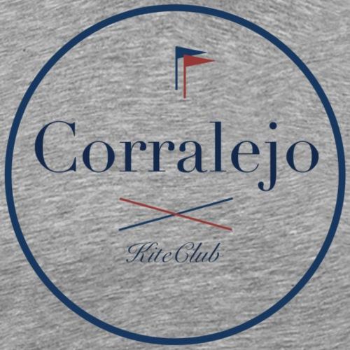 CORRALEJO 175x175 blanc bleu - T-shirt Premium Homme
