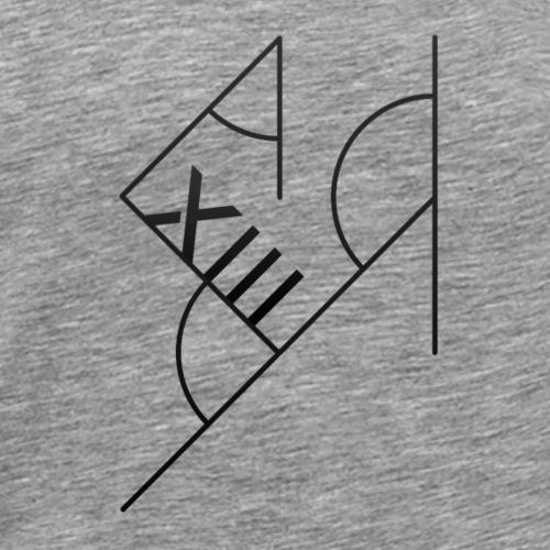 Sort XIII - Herre premium T-shirt