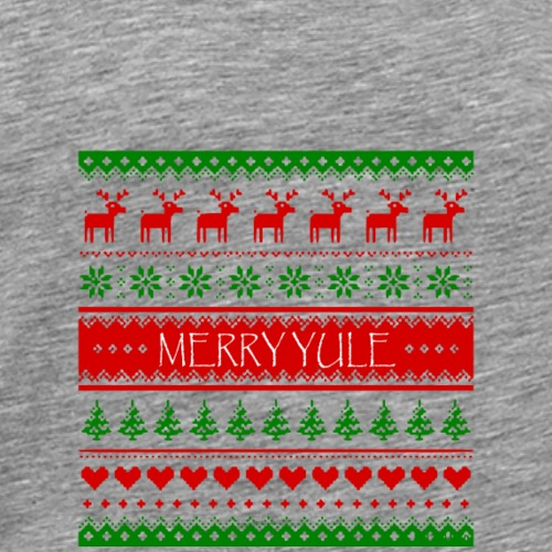 merry yule - T-shirt Premium Homme