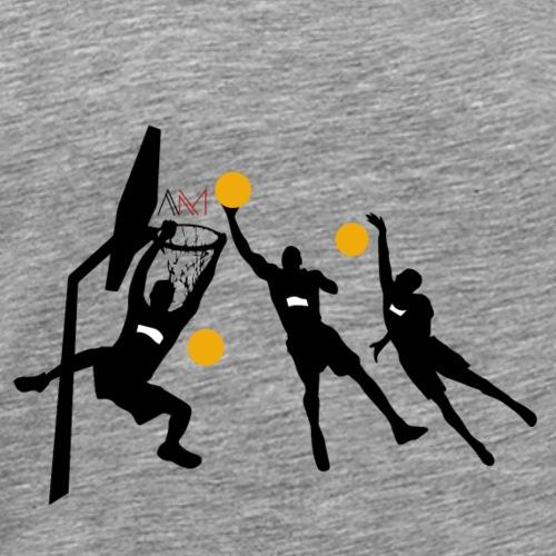 SCHIACCIATA - Maglietta Premium da uomo