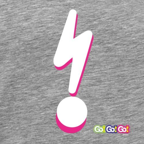 Go!Go!Go! Lightening Bolt Pink - Men's Premium T-Shirt