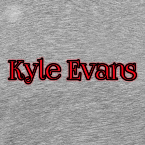 KYLE EVANS TEXT T-SHIRT - Men's Premium T-Shirt
