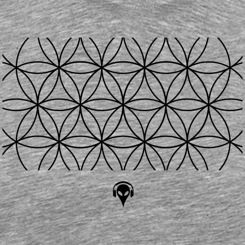 Alien Muster - Männer Premium T-Shirt