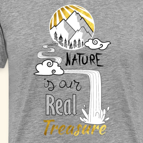 nature's treasure - T-shirt Premium Homme