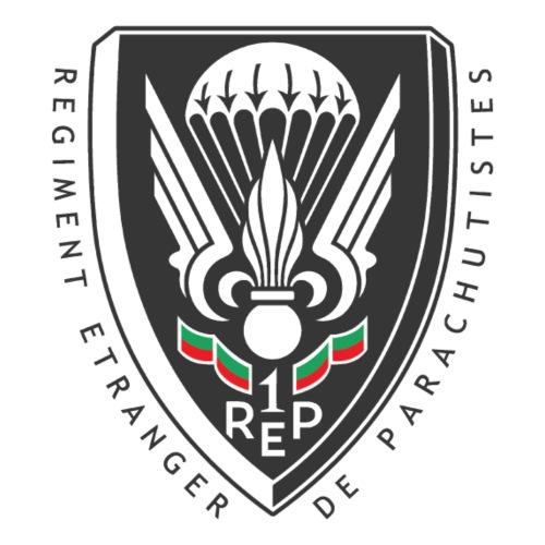 1er REP - 1 REP - Legion - Badge - Dark - Men's Premium T-Shirt