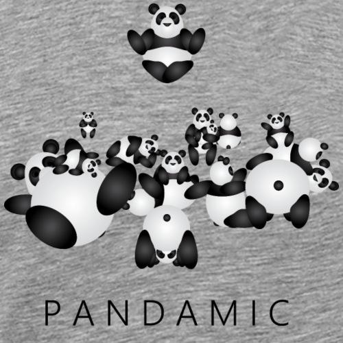 Pandamic - Mannen Premium T-shirt