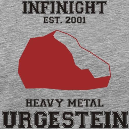 IN Urgestein Kiesel dunkel - Männer Premium T-Shirt