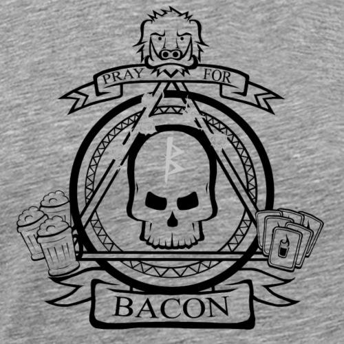 Baconistas Banda - Camiseta premium hombre