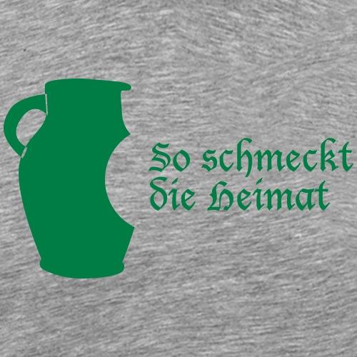Bembel - So schmeckt Heimat - Männer Premium T-Shirt