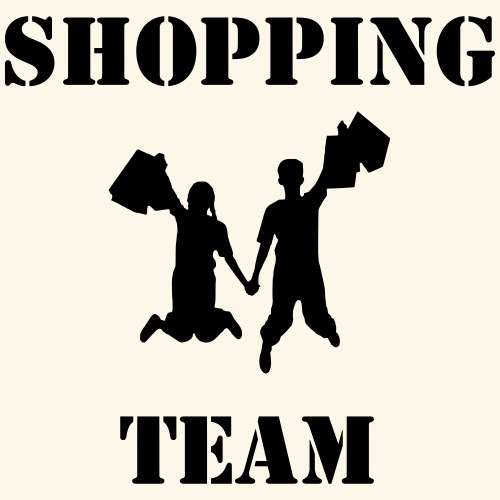 Shopping Team - Männer Premium T-Shirt
