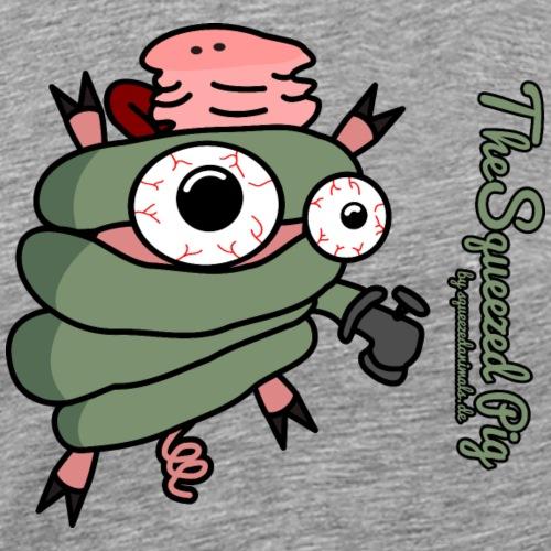 Das gedrückte Schwein - Männer Premium T-Shirt