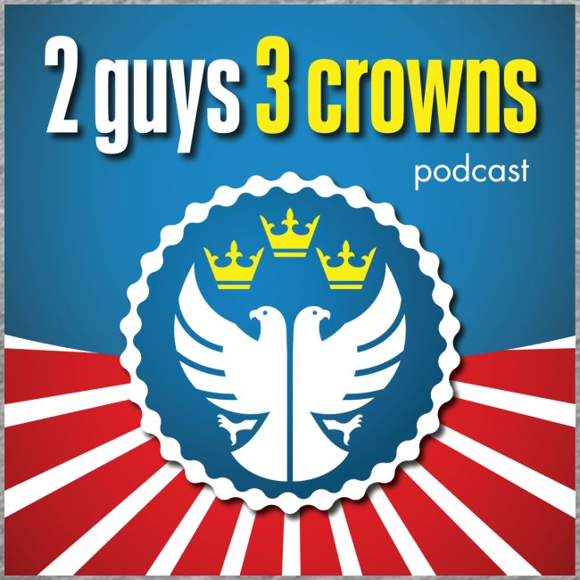 Official 2 Guys 3 Crowns Logo