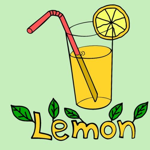 Lemon - Camiseta premium hombre