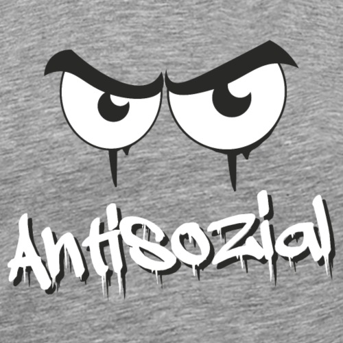 Antisozial - Männer Premium T-Shirt