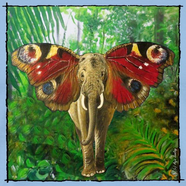 Schmettefant im Dschungel