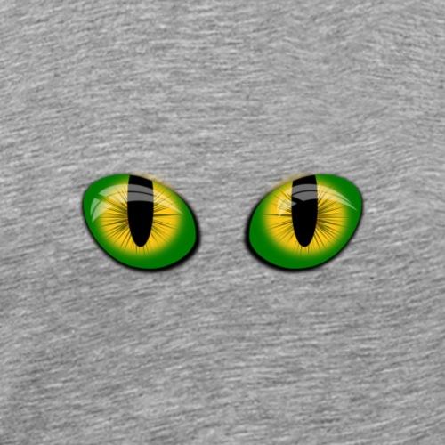 Yeux de chat - T-shirt Premium Homme