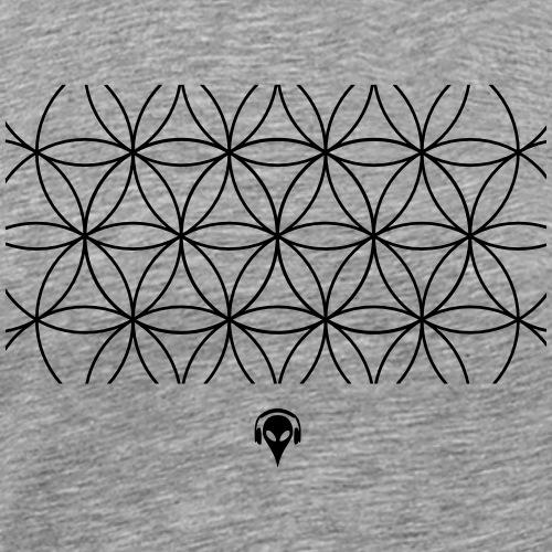 Herisodostida - The flower of creation - Men's Premium T-Shirt