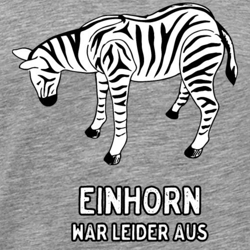 Zebra - Männer Premium T-Shirt