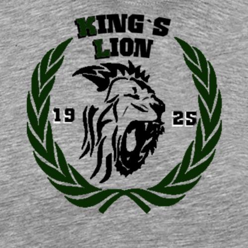 kings lion - Camiseta premium hombre