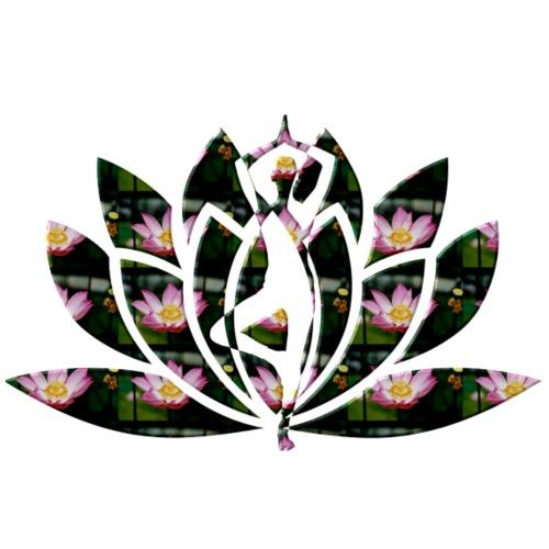 Yoga fleur de lotus - T-shirt Premium Homme