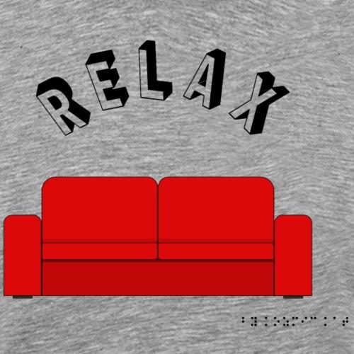 T-Shirt RELAX - T-shirt Premium Homme