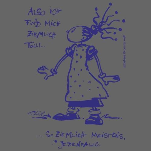 Stineliese...ziemlich toll! - ndigo - Männer Premium T-Shirt