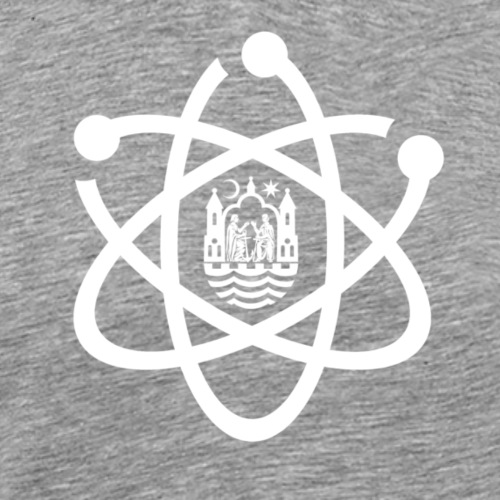 March for Science Aarhus logo - Men's Premium T-Shirt