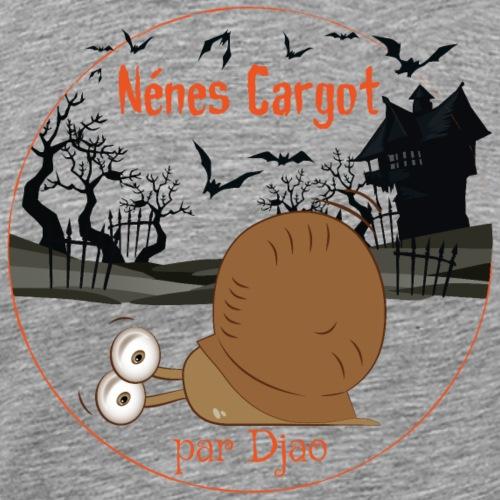 Nénes Cargot Halloween par Djao - T-shirt Premium Homme