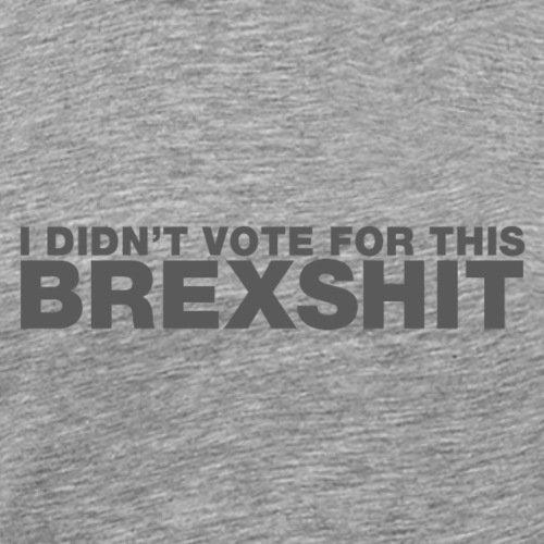 I didn't vote for this BREXSHIT - Men's Premium T-Shirt