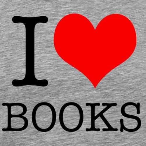 ilovebooks - Men's Premium T-Shirt