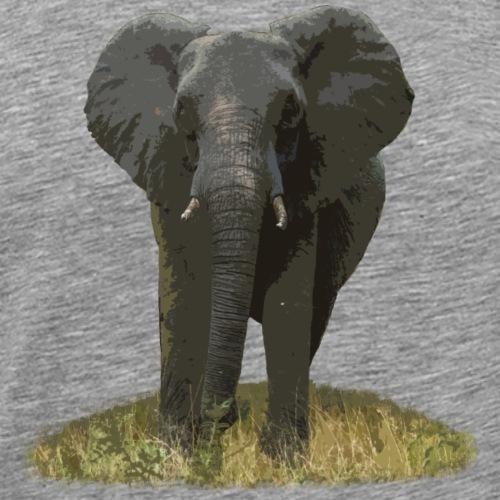 Elefant Afrika - Männer Premium T-Shirt