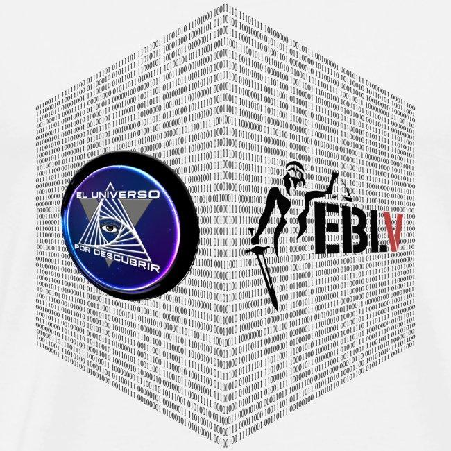disen o dos canales cubo binario logos delante