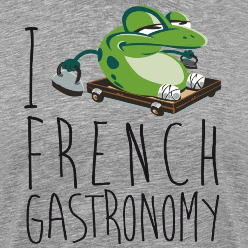 i love french gastronomy - T-shirt Premium Homme
