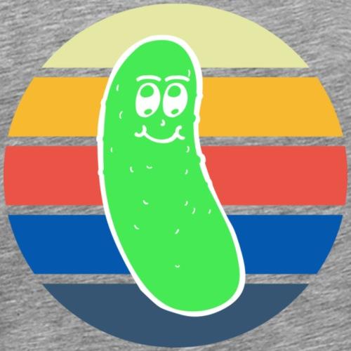 Vintage Colored Pickle #3 - Maglietta Premium da uomo