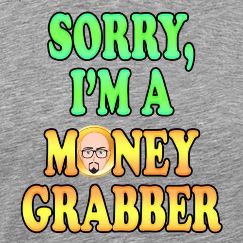 GrabberFace - Maglietta Premium da uomo
