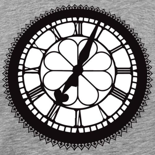 St Enoch's Clock - Men's Premium T-Shirt