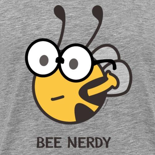 BEE NERDY - Männer Premium T-Shirt