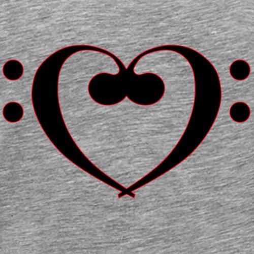 Bass Liebe - Männer Premium T-Shirt