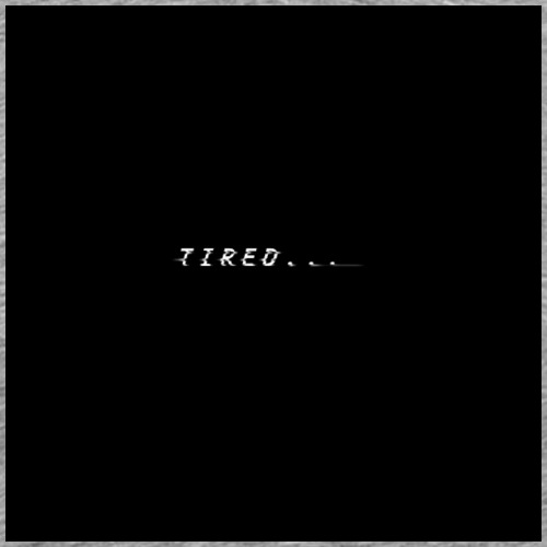 Tired... - Männer Premium T-Shirt
