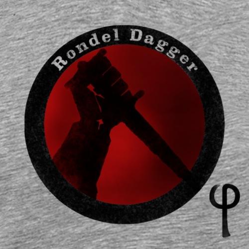 Rondel Dagger - Men's Premium T-Shirt