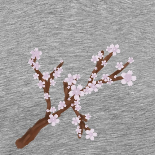 Sakura - Männer Premium T-Shirt