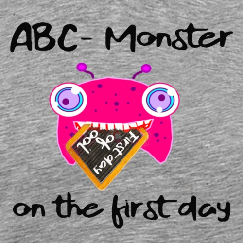 ABC Monster on the first day #black