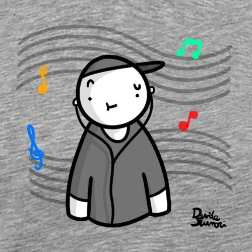 Musica - Maglietta Premium da uomo