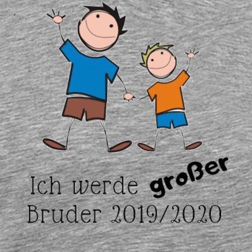 Ich werde grosser Bruder 2019 2020 - Männer Premium T-Shirt