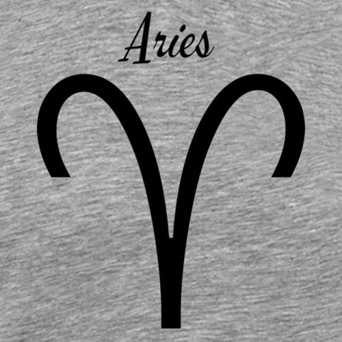 Aries Sternzeichen T-Shirt - Männer Premium T-Shirt