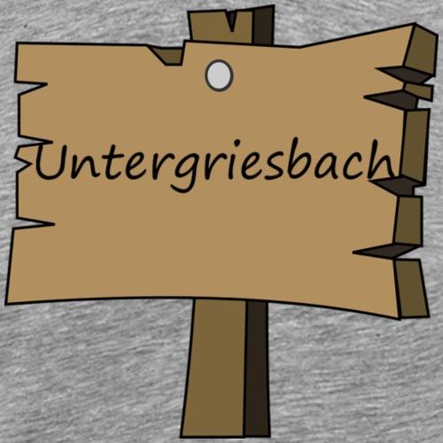 Ugriesbach1 - Männer Premium T-Shirt
