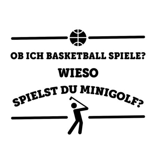 Basketball - Minigolf - Männer Premium T-Shirt