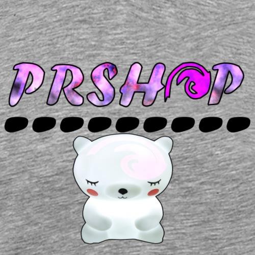PrSHOP mit Teddy - Männer Premium T-Shirt