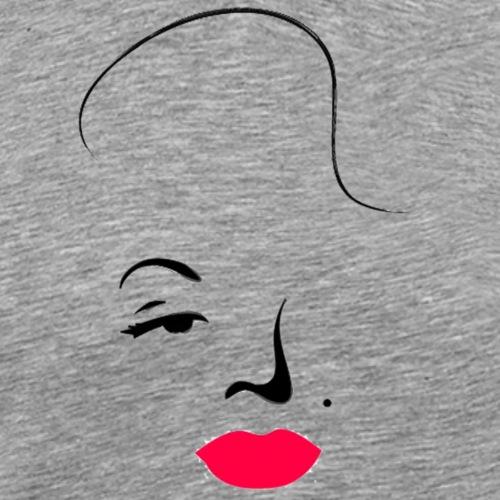Marilyn - Camiseta premium hombre
